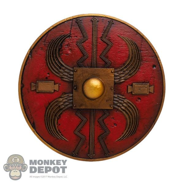 Monkey Depot - Shield: HY Toys Round Roman Shield
