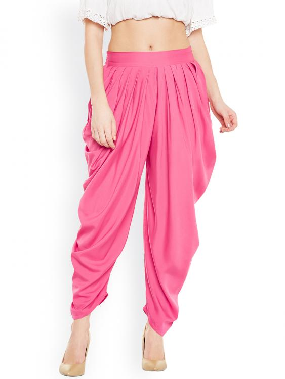 11514534699140-Women-Solid-Pink-Pleated-