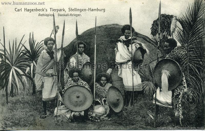 1909-Hagenbeck-Aethiopien-5.-Dankali-Kri