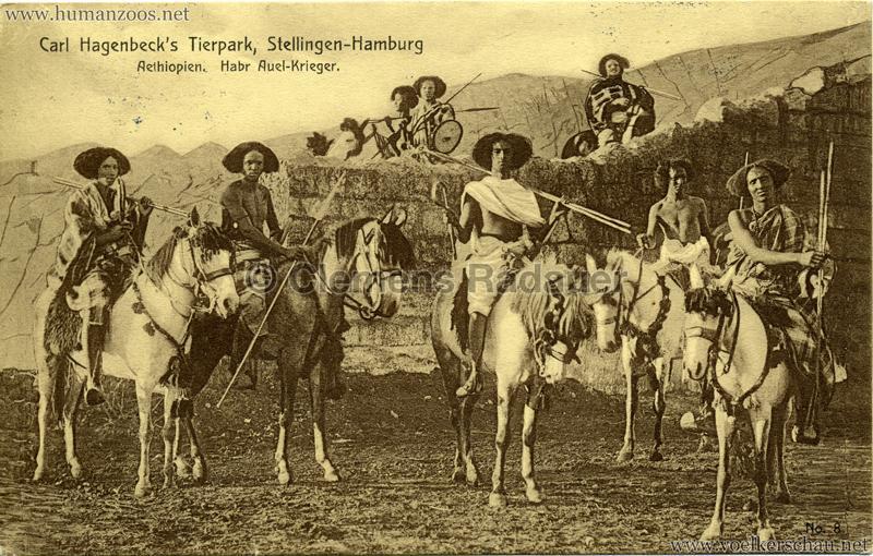 1909-Hagenbeck-Aethiopien-8.-Habr-Auel-K