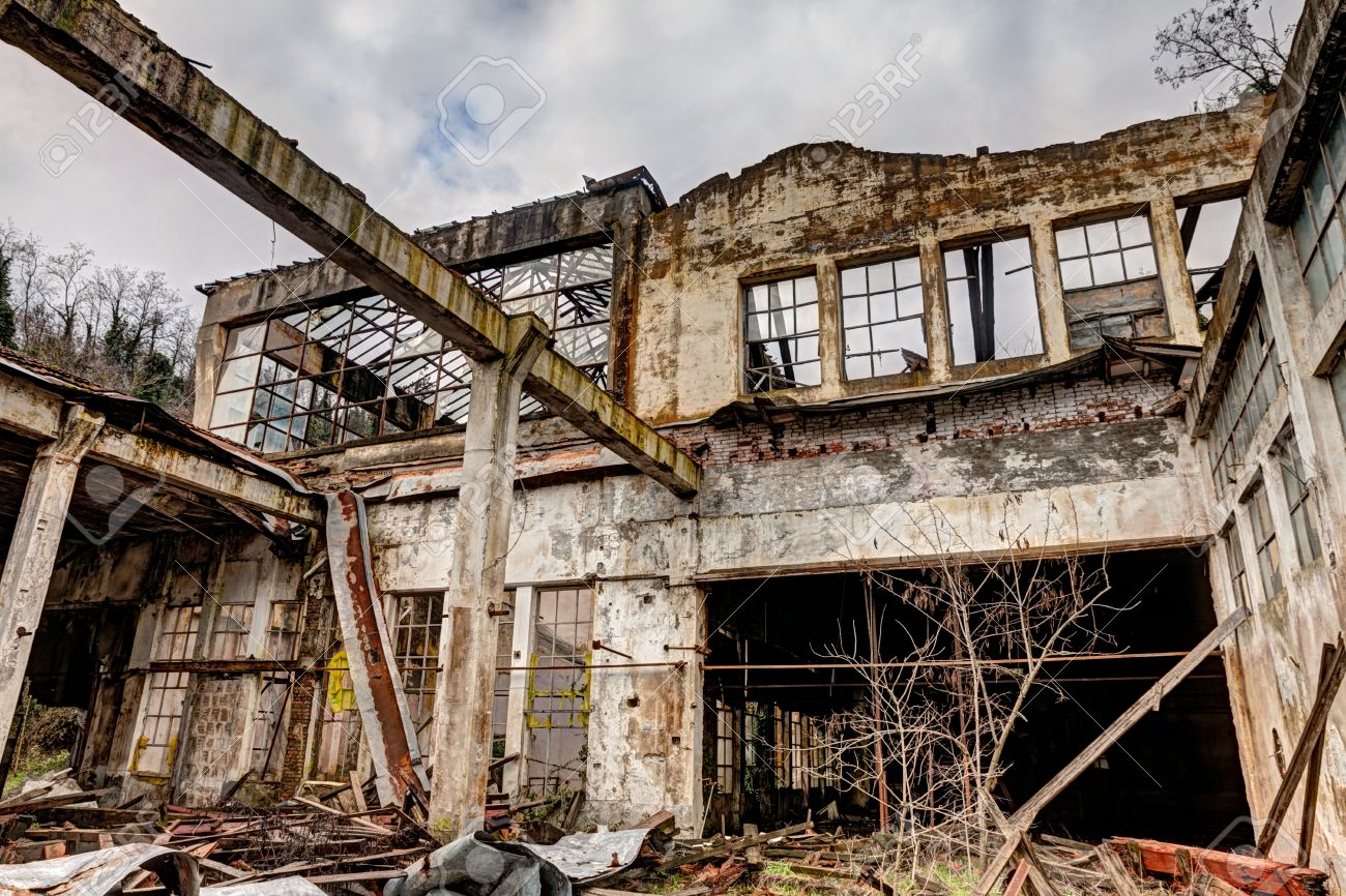 20747435-old-abandoned-and-collapsed-fac