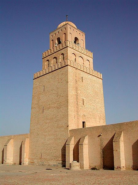 450px-Tower_of_the_Great_Mosque_of_Kairo