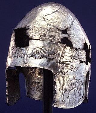 Thracian silver helmet