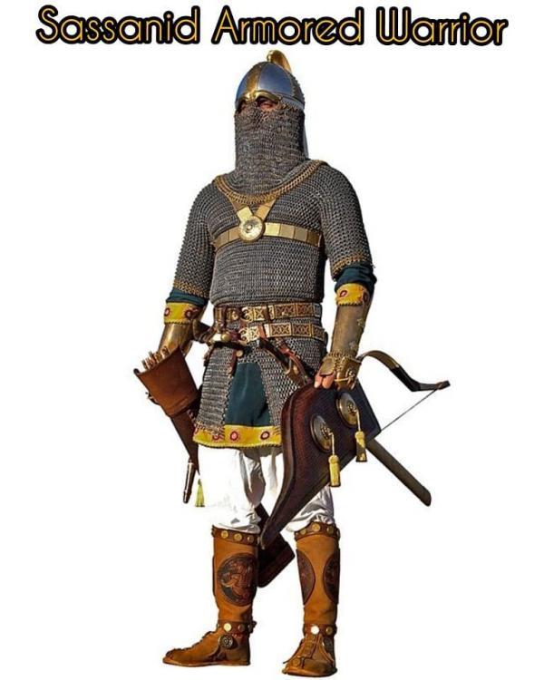 Resultado de imagen para sassanid warrior