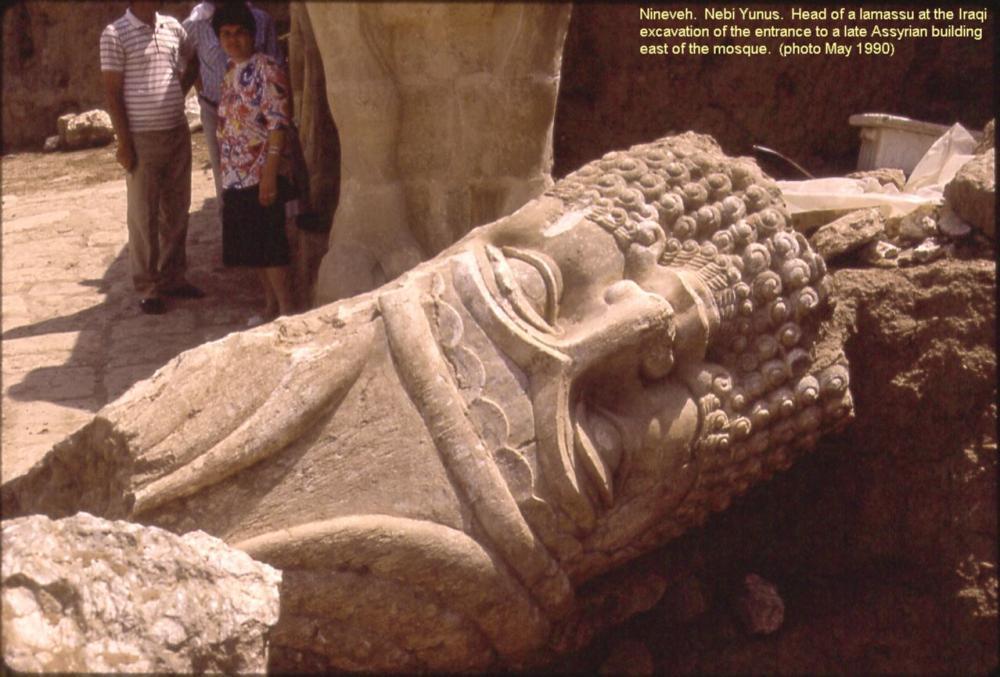 Nineveh_Nebi_Yunus_Excavation_Bull-Man_Head.JPG