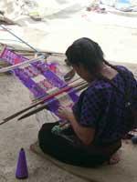 Pic 12: Backstrap loom, San Juan Chamula, Mexico