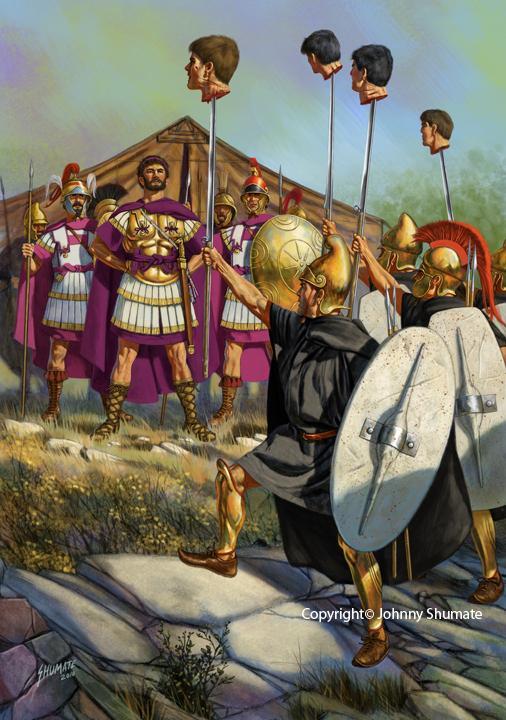 Resultado de imagen para thracian mercenaries  macedonian