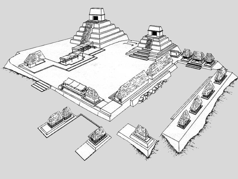 Urban Planning in Ancient Central Mexico | Mayan cities, Urban ...