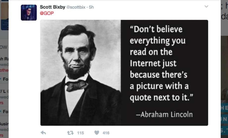 Resultado de imagen para internet quotes abraham lincoln