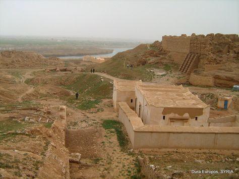 Dura-Europos was a Hellenistic, Parthian and Roman border city ...