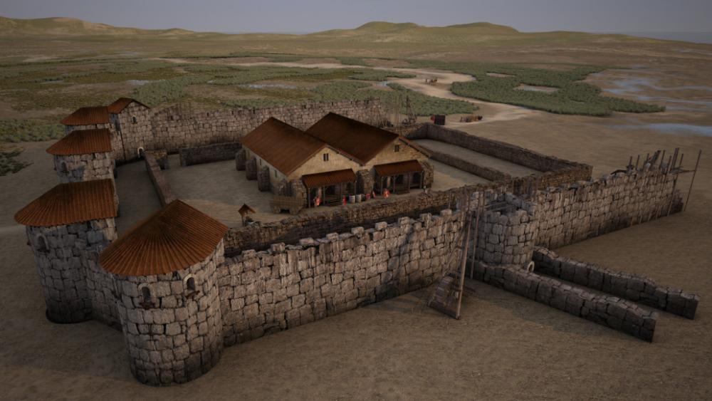 Resultado de imagen para roman castellum