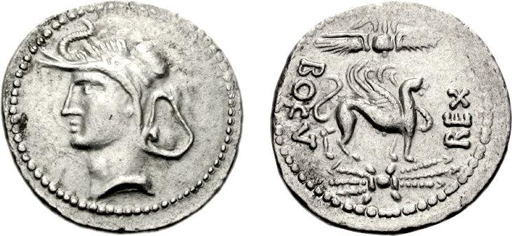 Coins with the name of King Bogud. / DR