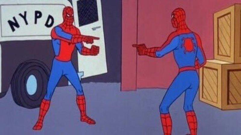 Resultado de imagen para Spiderman clone meme