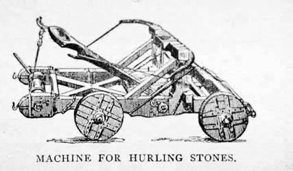 Catapulting rocks – Terrestrial Navigation