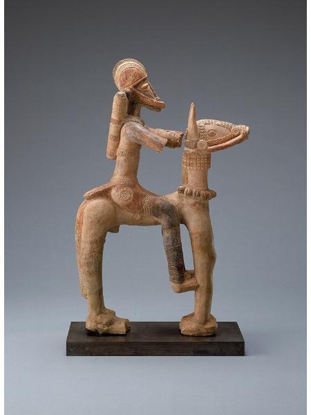 Djenne_Terracotta_Equestrian_(13th-15th_