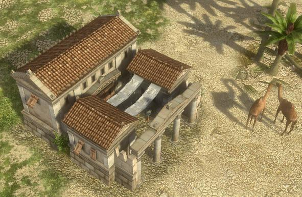 New Seleucid barracks