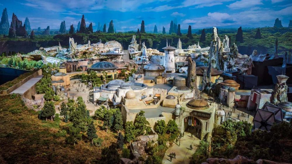 Resultado de imagen para star wars park empty