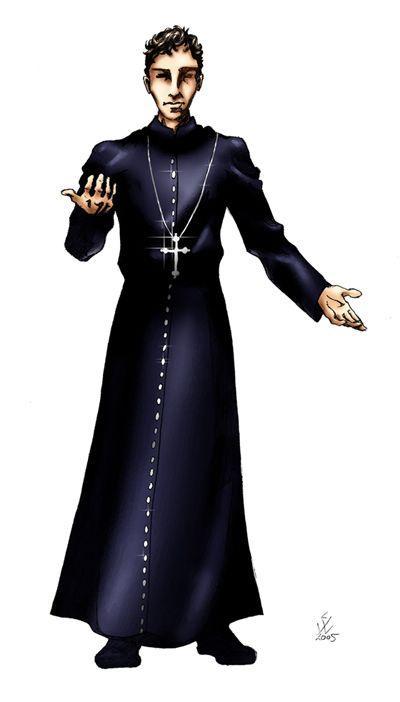 Resultado de imagen para priest pose
