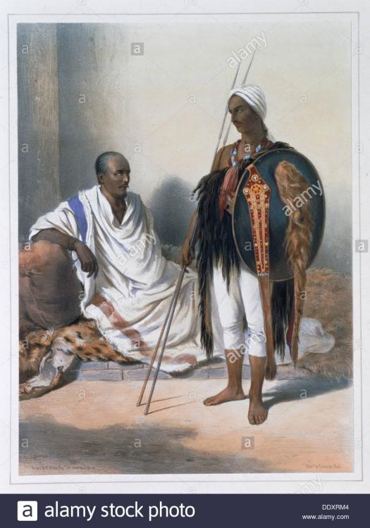 abyssinian-priest-and-warrior-1848-artis