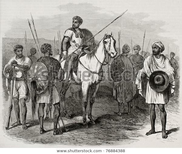 antique-illustration-abyssinian-warriors