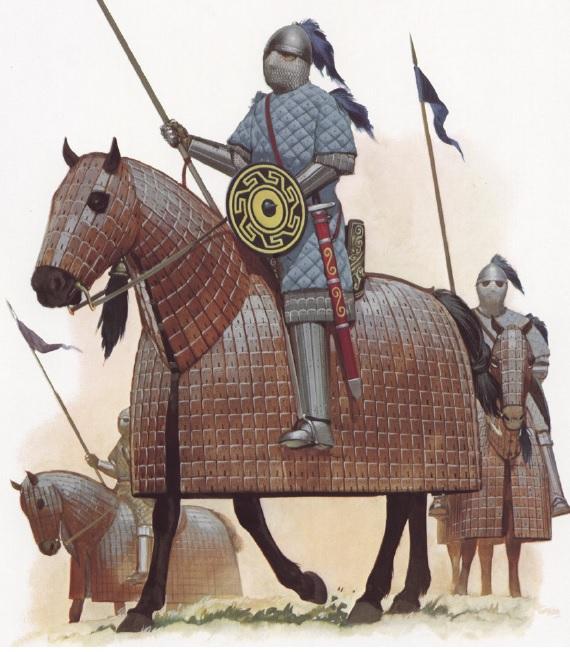 Byzantine Cataphracts (from Byzantine Armies 886-1118 by Osprey)