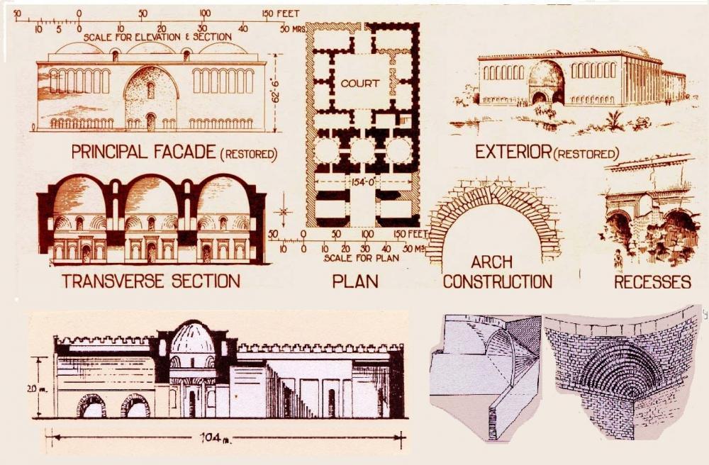 Sasanian (Palace at Firuzabad) - Ardashir I's Palace at Firuzabad ...