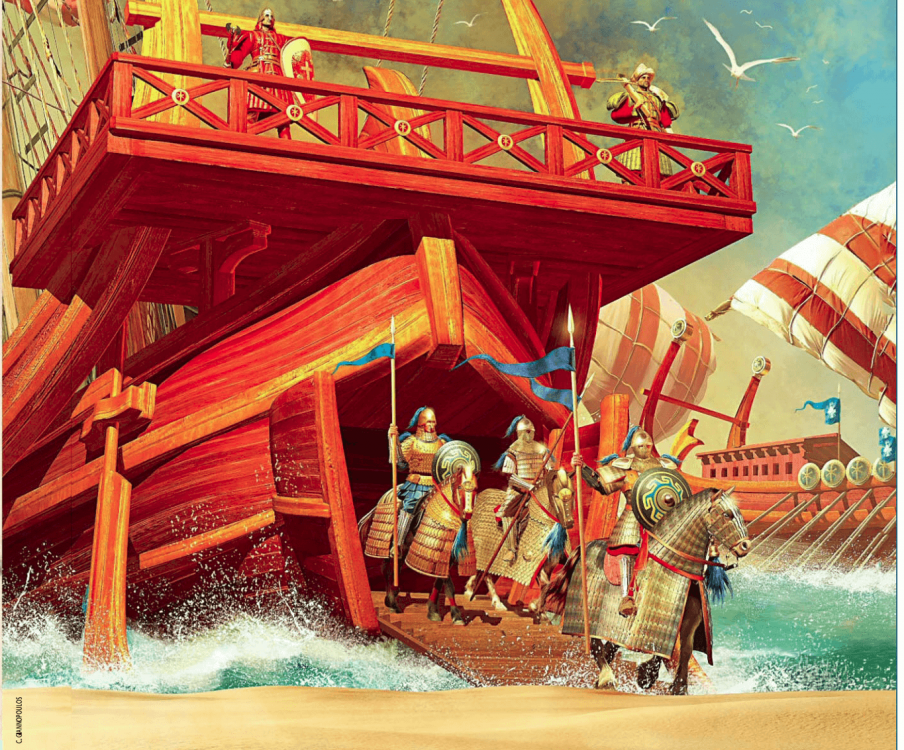 desembarco-bizantino-en-creta-960.png