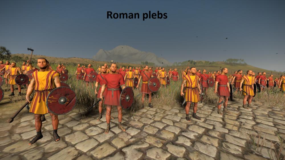 Resultado de imagen para plebs rome ii