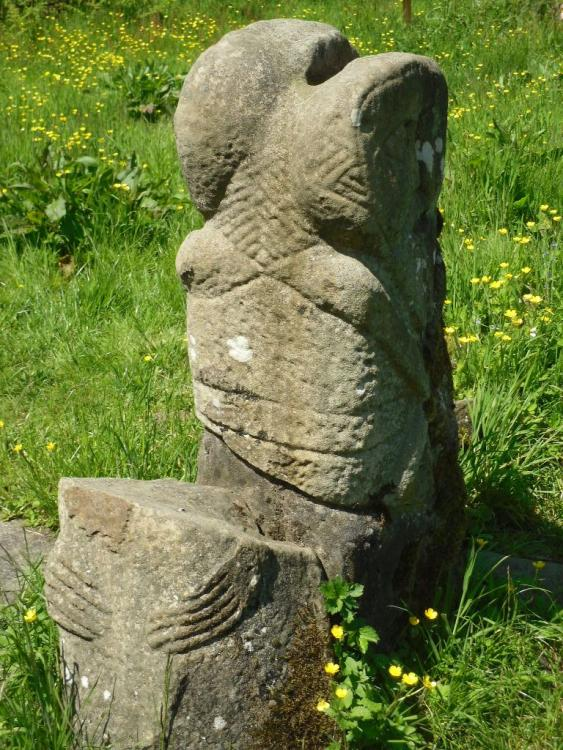 Janus figure, Caldragh Cemetary, Boa Island, Co. Fermanagh ...