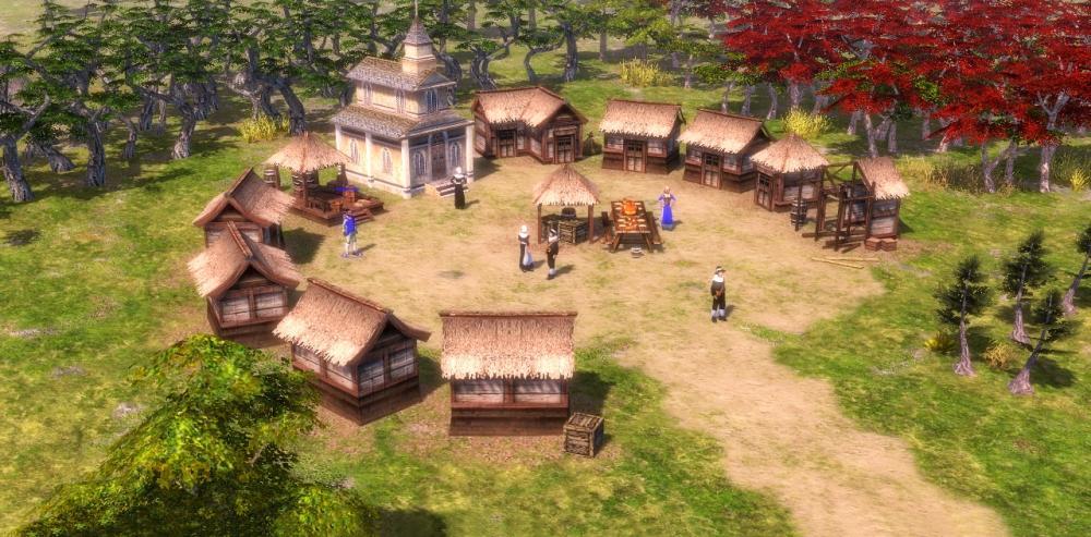 Resultado de imagen para mayan settlements aoe 3