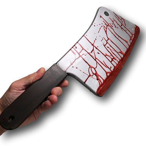 Resultado de imagen para blood  metal knife butcher scary