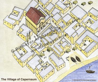 Capernaum Village – Ritmeyer Archaeological Design