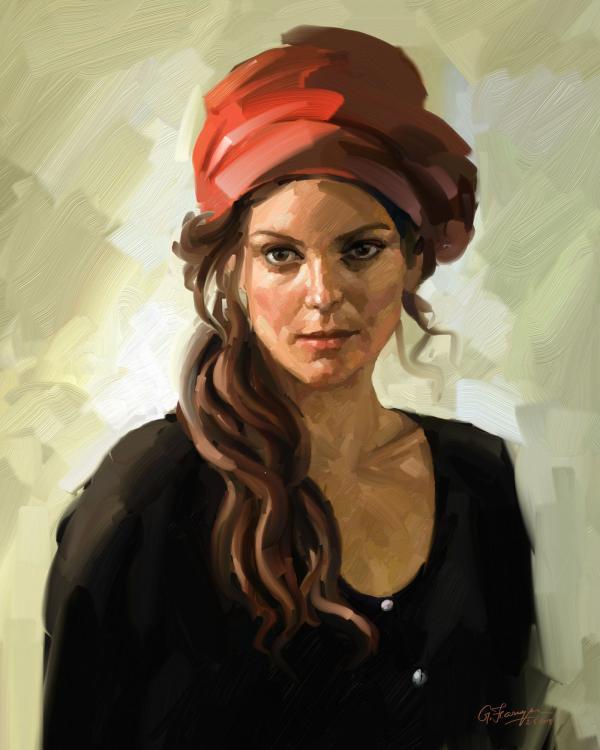 Resultado de imagen para digital portrait painting