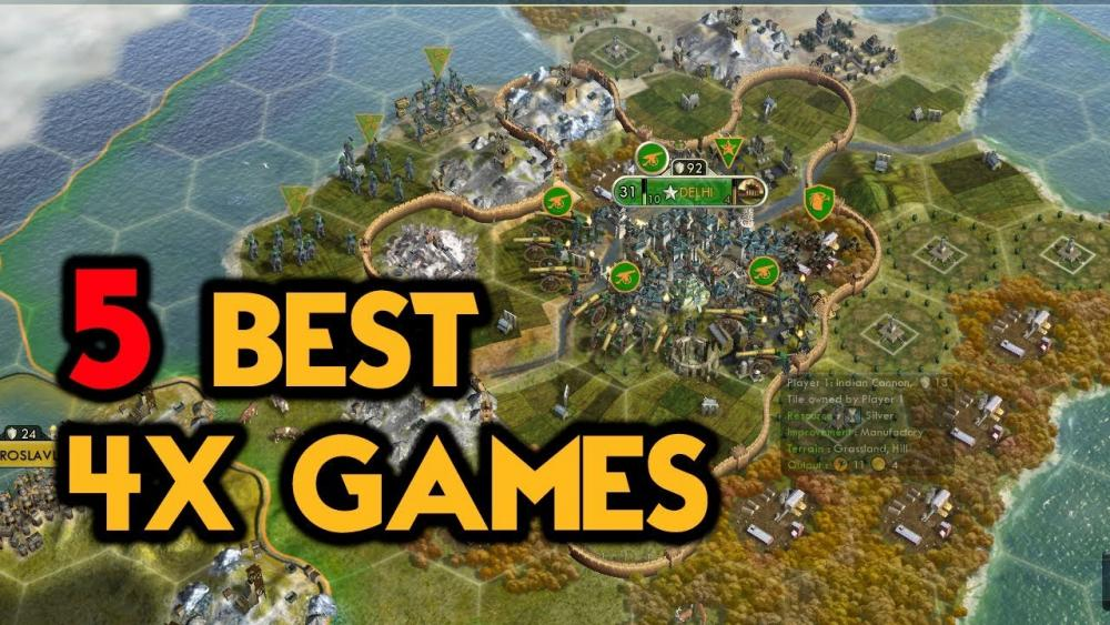 5 BEST 4X GAMES - YouTube