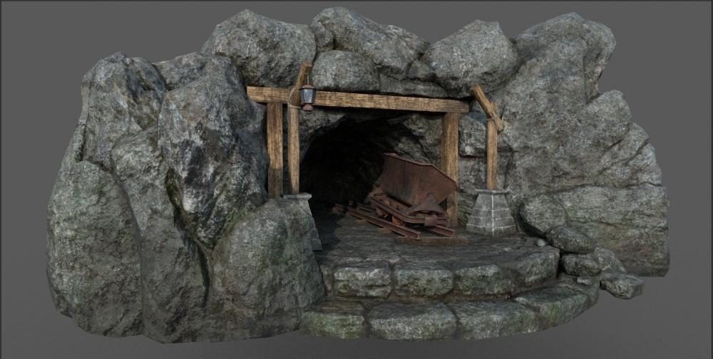 Resultado de imagen para mine gold mesh 3d