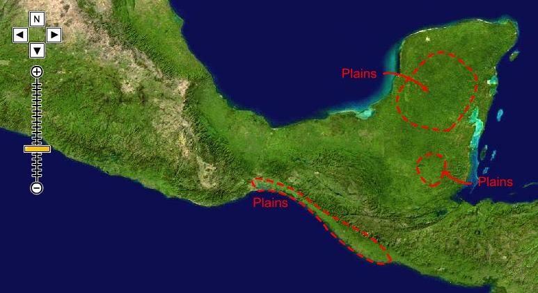 Resultado de imagen para map mesoamerican forest