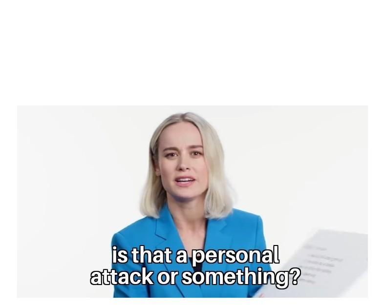 Resultado de imagen para is it personal attack
