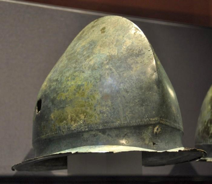Zenjak, Hallstatt helmet