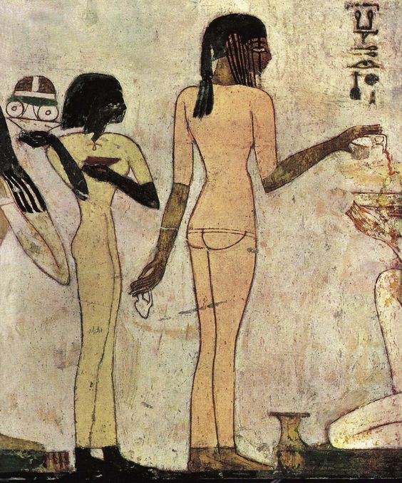 Painting from the tomb of Rechmire,18th dynasty Ancient Egypt 2.jpg