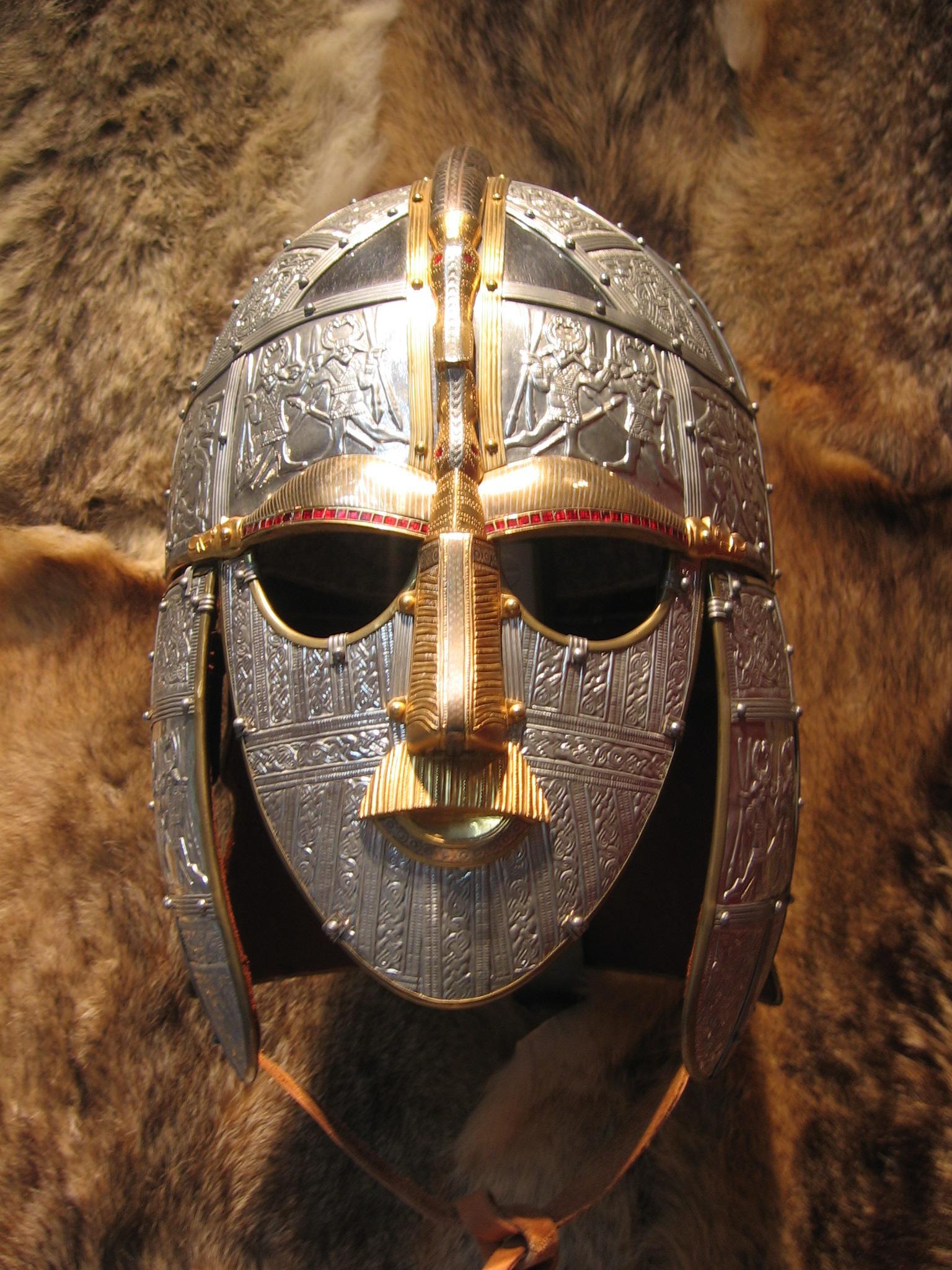 Sutton Hoo Helmet Template | BCCA