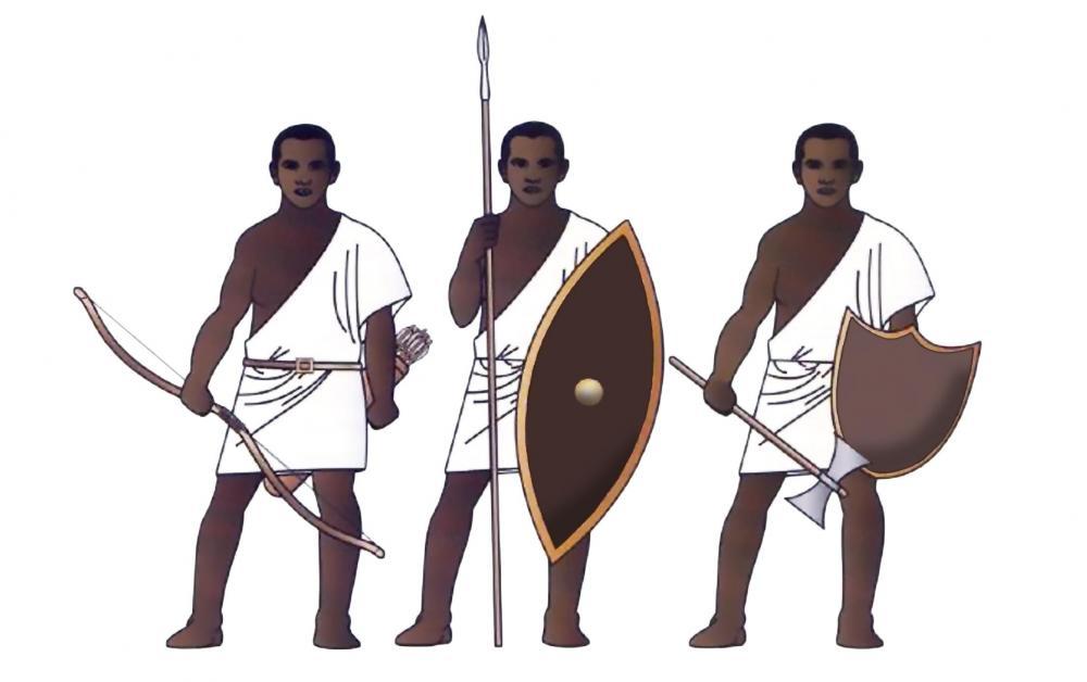 1999580616_KingdomofKushKushitemilitarysoldiersmercenaryinegyptNubiansarcherspearmanaxemanreconstruction.thumb.jpg.ec2fbde1ec74f5219250a33507b94875.jpg