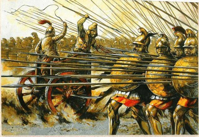 batalla-de-gaugamela-ataque-de-los-carros-falcados.png