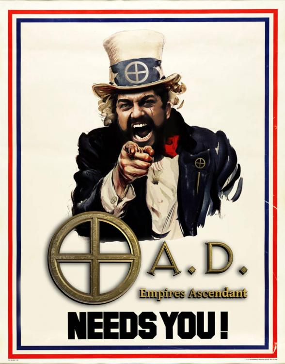 0AD Empires ascendant Needs you leonidas recruitment poster.jpg