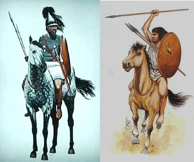 caballería pesada a la izquierda y ligera a la derecha.png