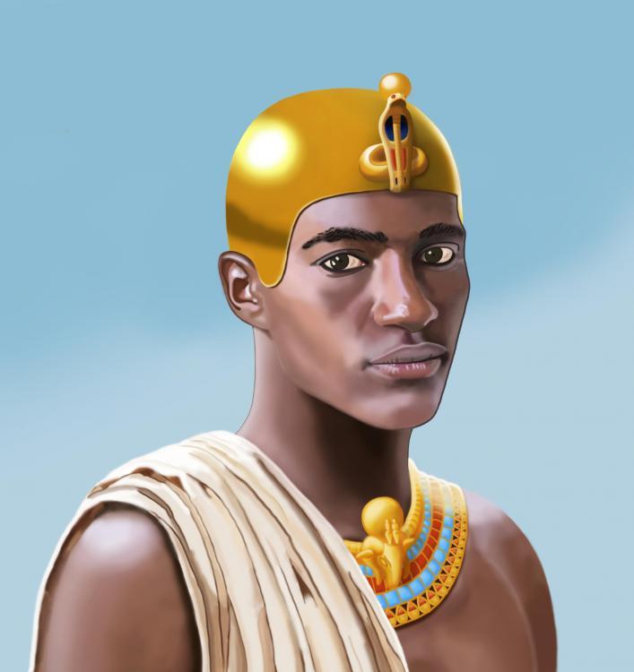 King Nastasen Kushite Pharaoh Kush Hero Portrait Nubia Sudan Africa Malcolm Quartey Sundiata D.jpg