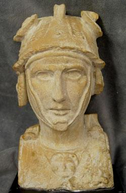 Giallo Antico herm bust of a Hellenistic Ruler, Roman Imperial Period, circa 1st Century A.D 5.jpg