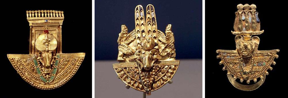 Kingdom of Kush Kushite gold shieldrings.jpg