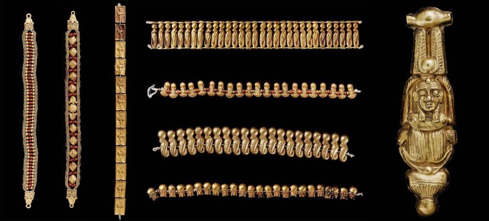 Kingdom of Kush Kushite gold jewelry armbands bracelets.jpg