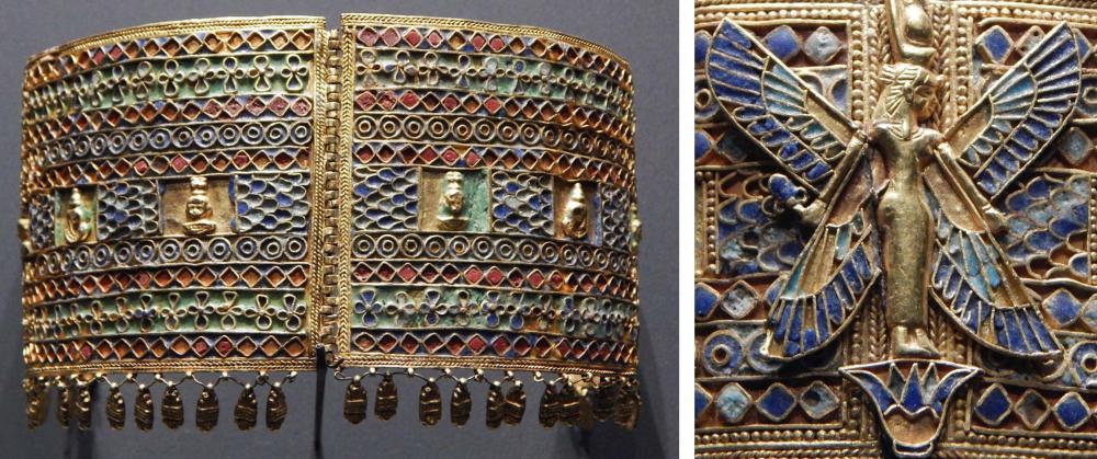 Kingdom of Kush Kushite gold bracelet armband Amanishakheto treasure.jpg