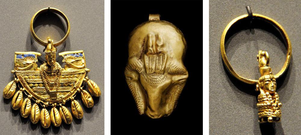Kingdom of Kush Kushite gold jewelry.jpg